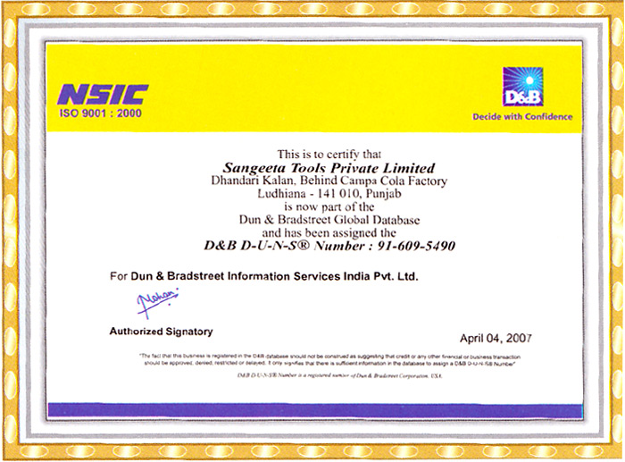 Certificates and Achievements